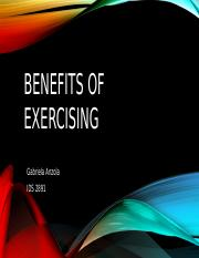 Benefits of exercising gabriela anzola.pptx