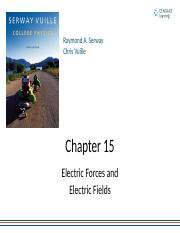 chapter15 (1-5) Electrostatic (Force and Field )