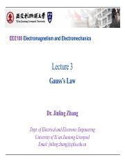 EEE108 Lectures3_Gauss's Law_Upload