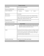 Template-Position-description BBHM205.docx