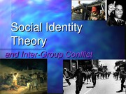 Lecture 9: Social Identity Theory