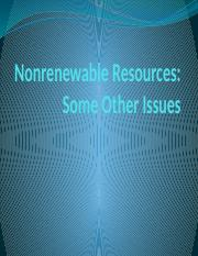 Nonrenewable Resources Other Issues.pptx