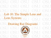 Lab 10 Simple lens and lens systems (1)