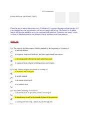 HUM 100 Exam 4 RETAKE TEST .docx