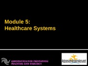module_5_healthcare_deliver