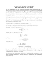 Solutions exam 4