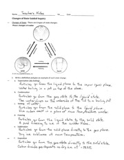 Phase Changes Worksheet Pogil: Changes of Phase Discovery   POGIL Changes of Phase Purpose  At the,