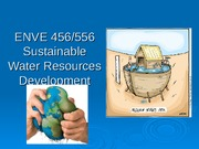 Lecture 3 - Water quality and emerging contaminants