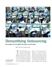Outsourcing_IMF WP04-186_2004