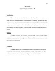 Enzyme Cytochemistry Lab Report -chi Yu -3rd draft.docx