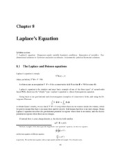 laplace's eq