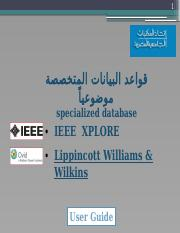 IEEE -  Lippincott Williams