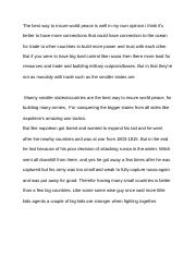 joshis world peace essay.docx