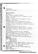 Anxiety Disorders Notes