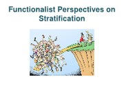 Functionalist Perspectives on Stratification and pattern variables
