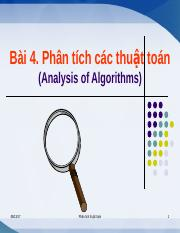 Lecture 4 - Analysis algorithms.ppt