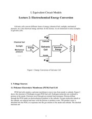 10.462 Electrochemical Energy Conversion Notes