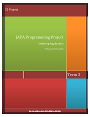 G11 Java project Term3
