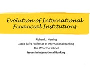 Ppt1-EvolutionofFinancialInstitutions