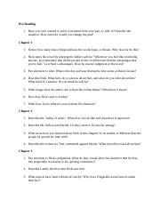 Study questions