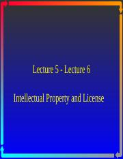 Lecture 5-6 Intellectual Property Right.ppt