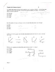 Phys 121 Spring 08 Exam 2 Pg 2
