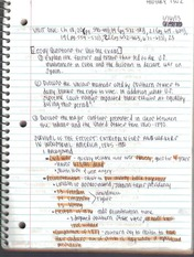 hist 1302 notes Class notes this teleweb format  hist 1302 (10537) mowefr 8:05am - 9:00am hist 1302 (10518) motuwethfr 9:00am - 12:15pm hist 1302 (10534) mowefr 7:00am .
