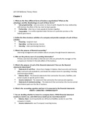 ACC100 Midterm Theory Notes