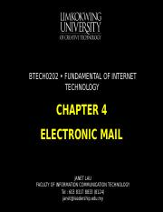 Chapter 4 Electronic Mail.ppt