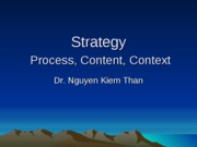 1-Strategy Process Content Context