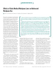 Effects of State Medical Marijuana Laws on Adolescent Marijuana Use..pdf