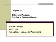 ACC 2203 Chapter 10 Differential Analysis_updated MOn