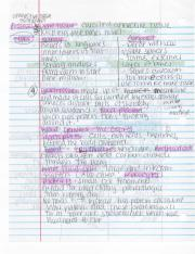 Anatomy and Physiology  Notes