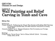 GEC1C20_L4_WallPainting&ReliefCarving