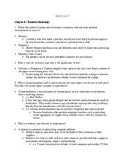 Final Textbook Study Guide