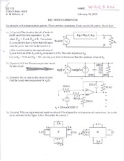 110_1_MidTerm Exam Solutions