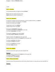 Ch.1 Part 2 (TERMINOLOGY) - Exam 1 Part 1 Questions Key.pdf