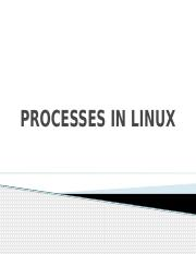 lesson 6 processes in linux