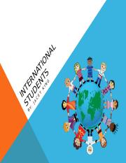 International Students pp