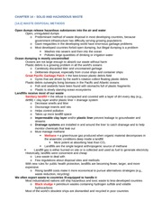 ENV200 Chapter 14 Notes