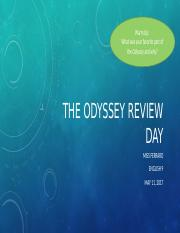 May 11 The Odyssey Review Day.pptm