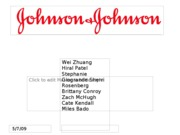 johnson and johnson ppt