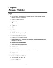 statistics for business and economics 11th edition chapter 1 - exercise solution