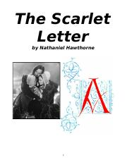 The Scarlet Letter Packet (1).doc
