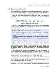 Section 5: The Line of Best Fit