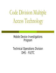 division_multiple_access_technology