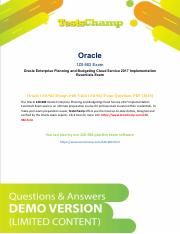 How To Prepare Oracle Business Financials Management 1Z0-982 Exam Dumps ?