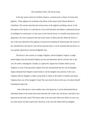 The Canterbury Tales The Doctor Essay