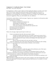 ENG315 Template Assignment 2