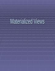 MaterializedViews (2).ppt